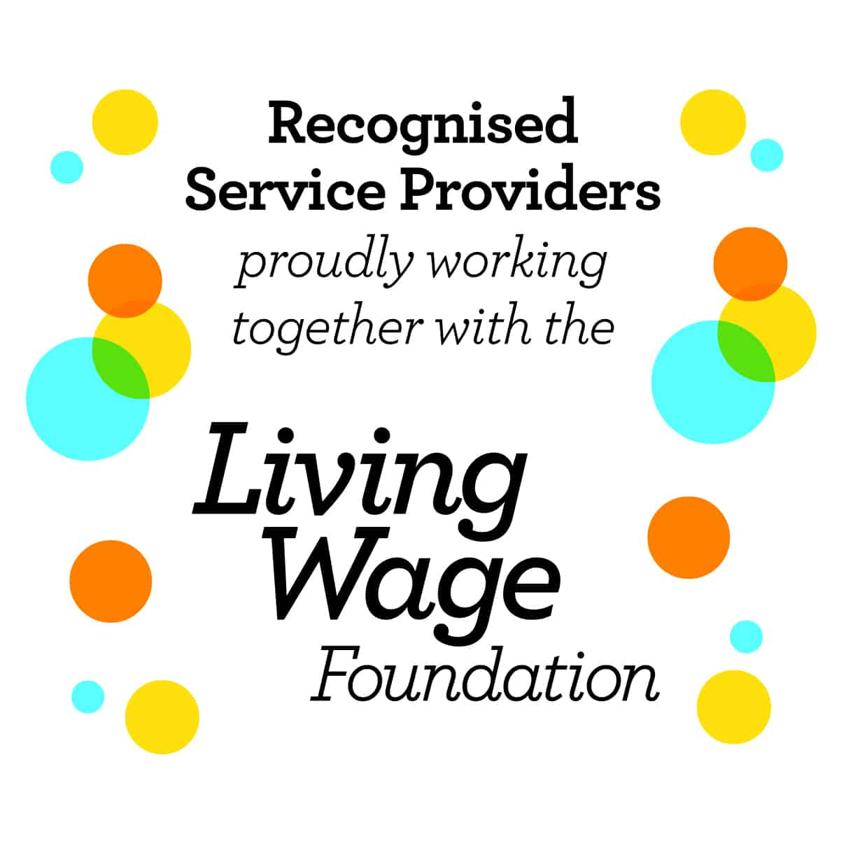 London Living Wage Recognised Service Provider