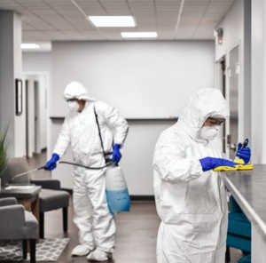 antiviral desinfecting london