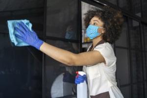 Cleaning in lockdown