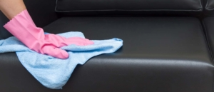 Removing stains from the sofa